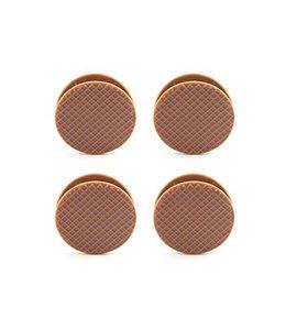 Stroopwafel Clips (set van 4)