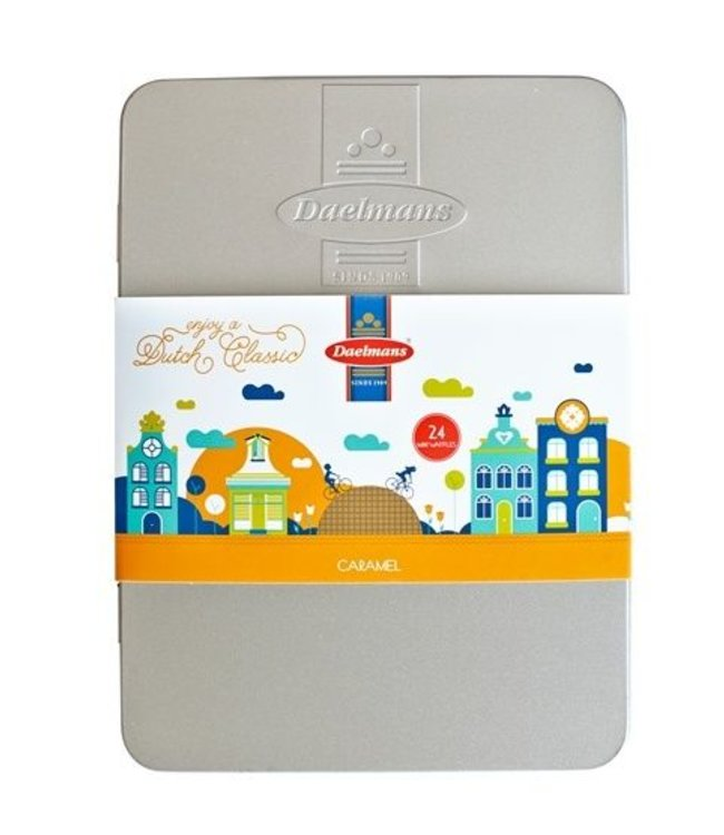 Daelmans Gift Tin - 24 Mini's