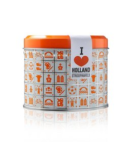 Daelmans Oranje I Heart Holland Blikje