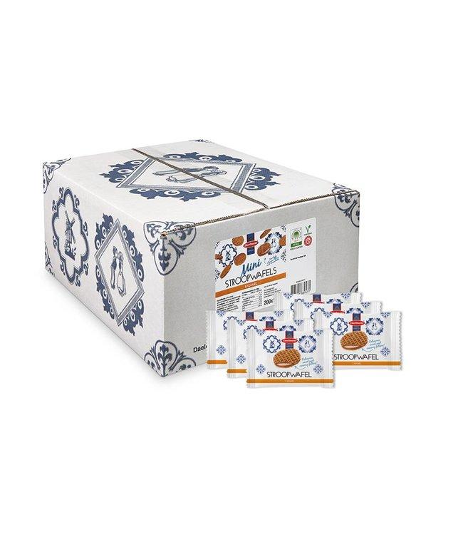 Daelmans Mini Stroopwafels | Doos 200 stuks