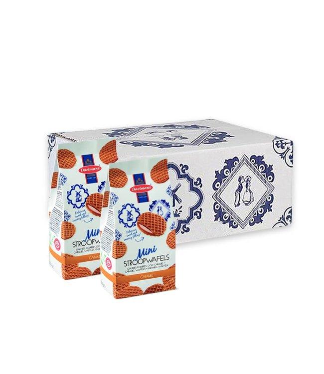 Daelmans Mini Stroopwafels in Bag | Case of 12