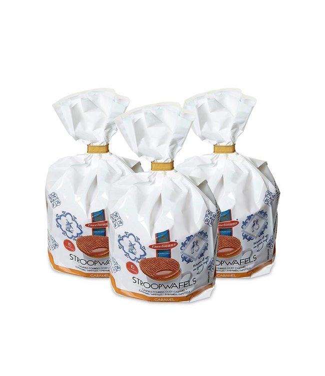 3 Packs Daelmans Stroopwafels