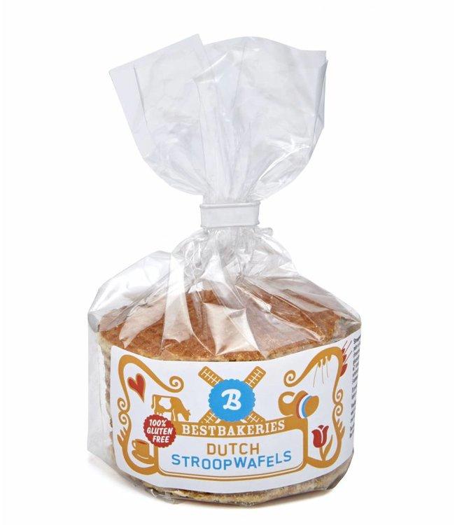 Glutenvrije stroopwafels | Toefzak 8 stuks