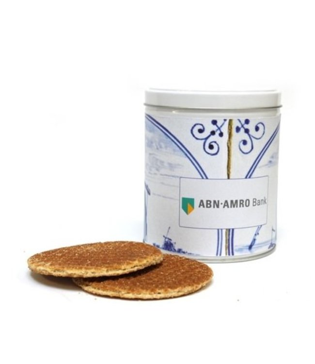 Customize Yorder our Stroopwafel Tin | Label only