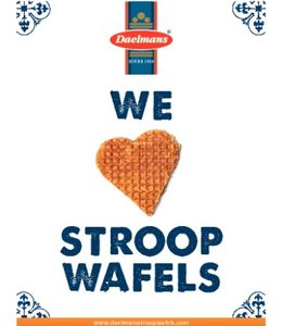 We <3 Stroopwafels kaart