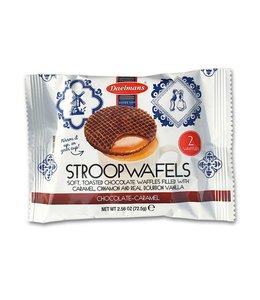 Daelmans Jumbo Chocolate Caramel Stroopwafels Duoverpakking