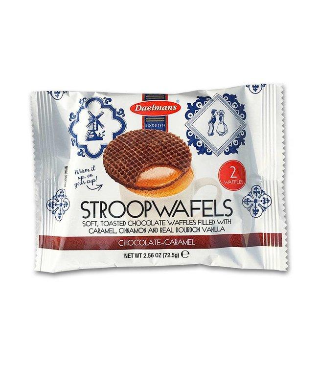 Daelmans Jumbo Chocolate  Stroopwafels 2-pack