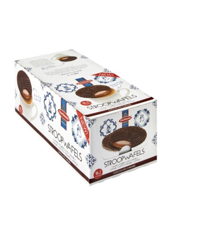 Daelmans Chocolate Caramel Stroopwafels - 18x2