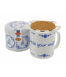 Daelmans x Dutch Speakwords Hold your Waffle  Cadeaupakket