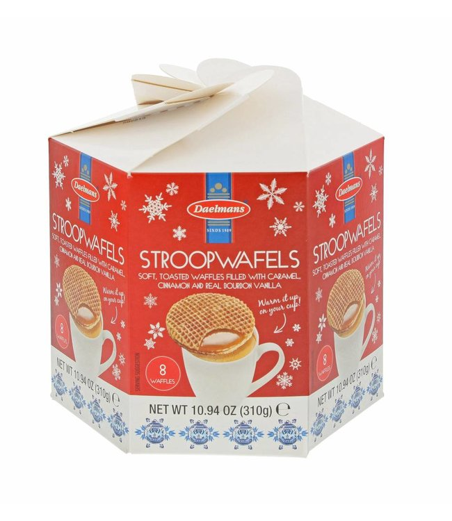 Daelmans Stroopwafels Christmas Hexa box - Limited edition