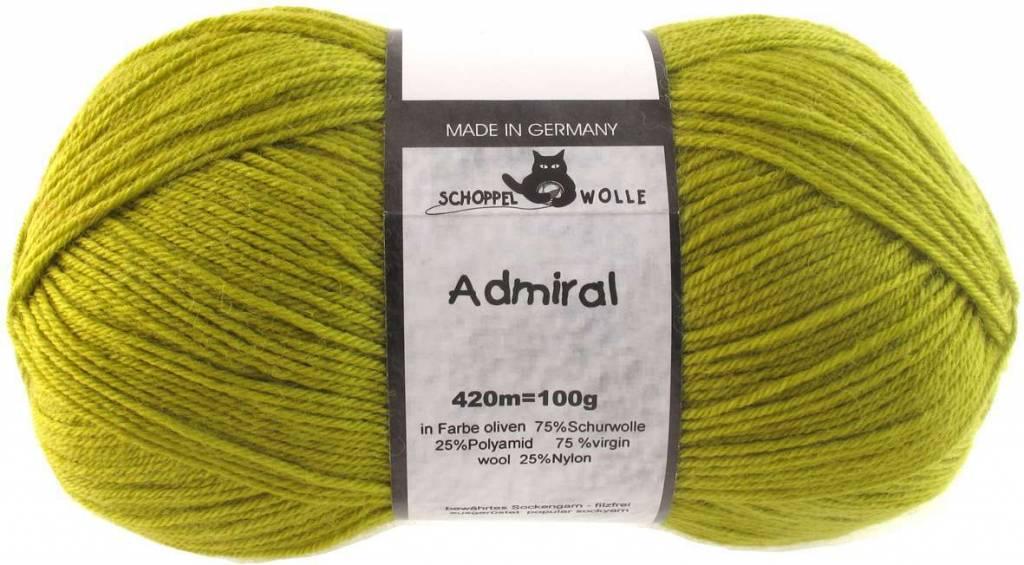 Schoppel-Wolle ADMIRAL 0383 OLIV