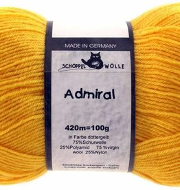 Schoppel-Wolle ADMIRAL 0580 YOLK-YELLOW