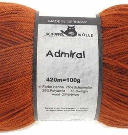Schoppel-Wolle ADMIRAL 0803 HENNA