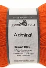 Schoppel-Wolle ADMIRAL 0891 AUTUMN-ORANGE