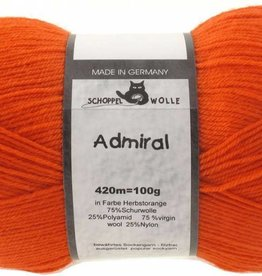 Schoppel-Wolle ADMIRAL 0891 AUTUMN-ORANGE