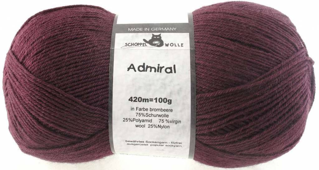 Schoppel-Wolle ADMIRAL 2805 BROMBEERE