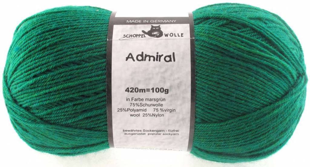 Schoppel-Wolle ADMIRAL 6601 MARS-GREEN