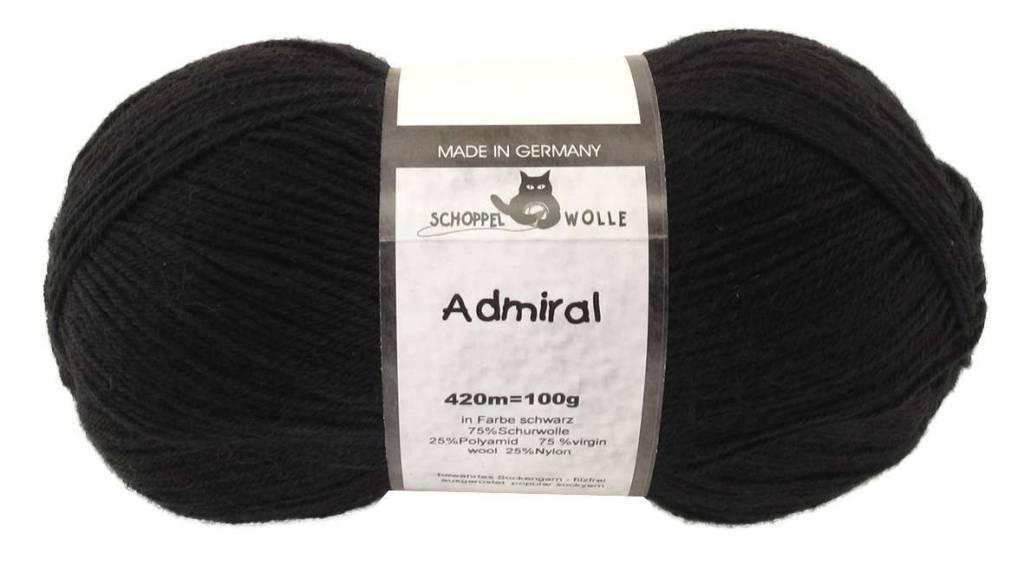 Schoppel-Wolle ADMIRAL 880 BLACK