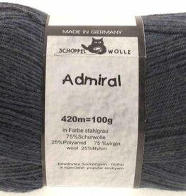 Schoppel-Wolle ADMIRAL 9505 STEEL-GREY