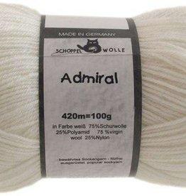 Schoppel-Wolle ADMIRAL 990 WHITE