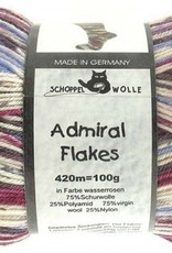 Schoppel-Wolle ADMIRAL FLAKES 2023FL WATERROSES