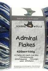 Schoppel-Wolle ADMIRAL FLAKES 2026FL ICH MACH MAL BLAU