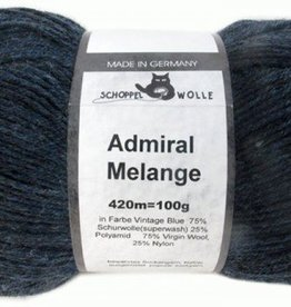 Schoppel-Wolle ADMIRAL MELANGE 4488M VINTAGE BLUE