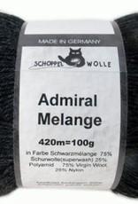Schoppel-Wolle ADMIRAL MELANGE 9093M SCHWARZMÉLANGE