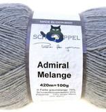 Schoppel-Wolle ADMIRAL MELANGE 9220M LIGHT GREY BLEND/LIGHT GREY