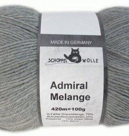 Schoppel-Wolle ADMIRAL MELANGE 9263M GRAUMÉLANGE