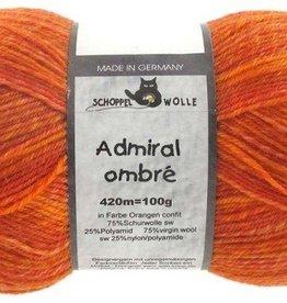 Schoppel-Wolle ADMIRAL OMBRÉ 1880OMBRE CONFIT OF ORANGE