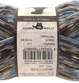Schoppel-Wolle ADMIRAL PRINT CONTINIOUS 1861MAGIC BLUE POT