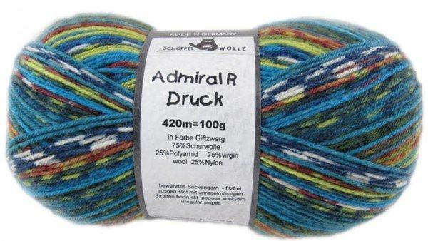 Schoppel-Wolle ADMIRAL PRINT CONTINIOUS 2184MAGIC GIFTZWERG