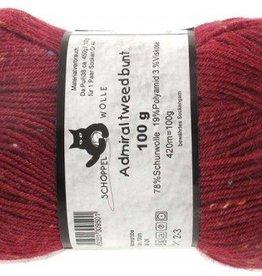Schoppel-Wolle ADMIRAL TWEED BUNT 2273 CLARET