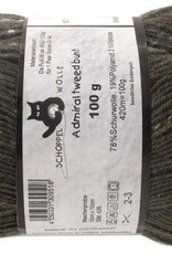 Schoppel-Wolle ADMIRAL TWEED BUNT 6271 OLIVE