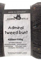 Schoppel-Wolle ADMIRAL TWEED BUNT 8805 ANTHRACITE