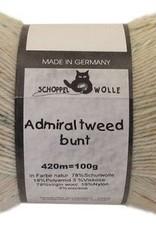 Schoppel-Wolle ADMIRAL TWEED BUNT 980 NATURAL
