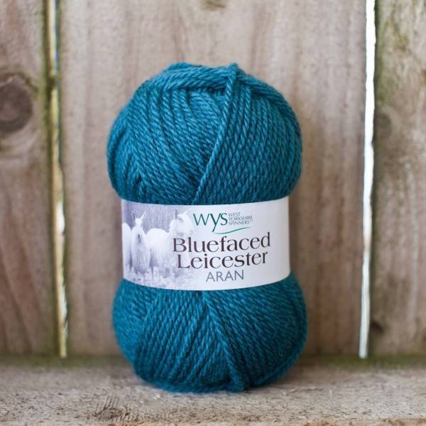 West Yorkshire Spinners BFL ARAN TEAL