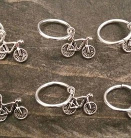 Stephen & Penelope BICYCLE STITCH MARKERS 6PK