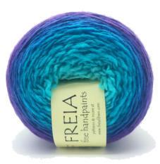 FREIA FREIA SHAWL BALL BLUE VELVET
