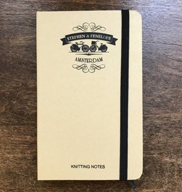 STEPHEN & PENELOPE KNITTING NOTEBOOK