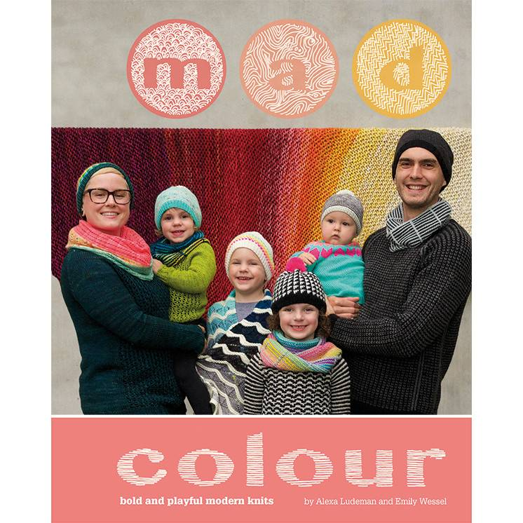 Tin Can Knits MAD COLOUR by TIN CAN KNITS