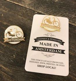 AMSTERDAM ENAMEL PIN