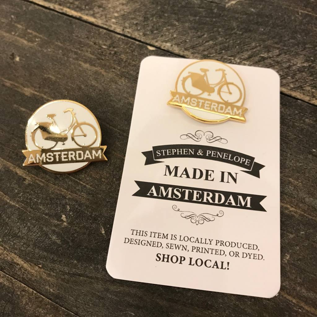 ENAMEL AMSTERDAM PIN