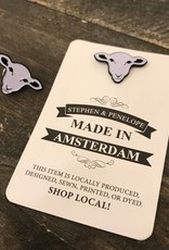 Stephen & Penelope ENAMEL SHEEP PIN