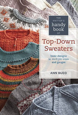 SEARCH PRESS THE KNITTERS HANDY BOOK OF TOP-DOWN SWEATERS by ANN BUDD