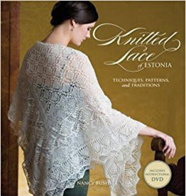 SEARCH PRESS KNITTED LACE OF ESTONIA by NANCY BUSH