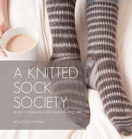 SEARCH PRESS A KNITTED SOCK SOCIETY by RACHEL COOPEY