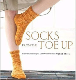 SOCKS FROM THE TOE UP - WENDY JOHNSON