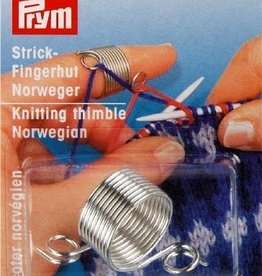 Prym NORWEGIAN KNITTING THIMBLE